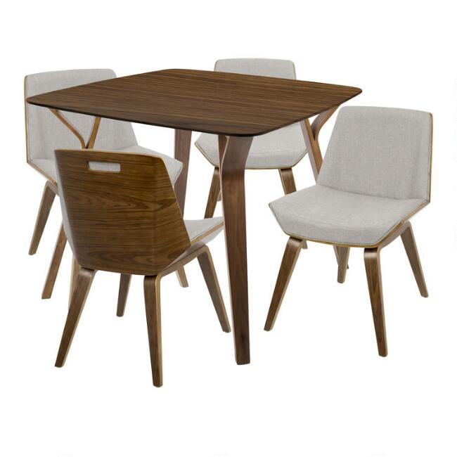 Wood Mid Century Joel Dining Collection