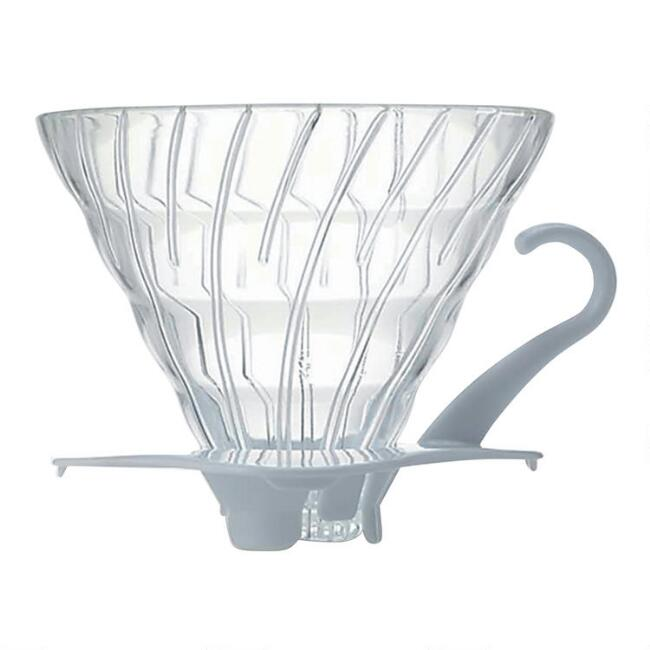 Hario V60 Size 02 White Glass Coffee Dripper