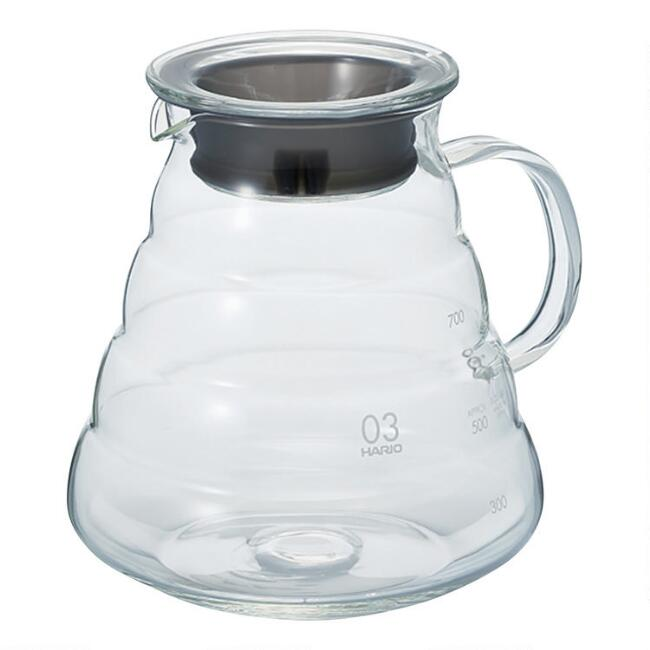 Hario V60 800ml Glass Range Coffee Server