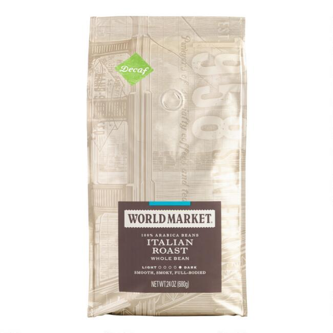 24 Oz. World Market® Italian Roast Decaf Coffee Set Of 3