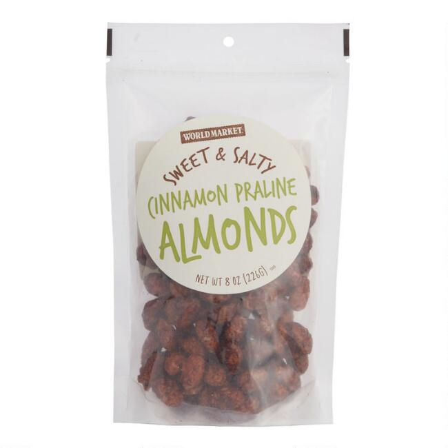 World Market® Sweet and Salty Cinnamon Praline Almonds