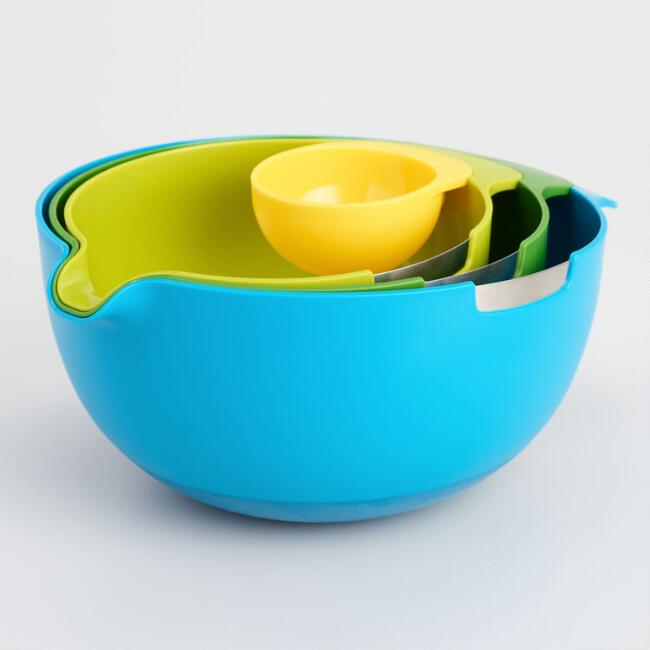 Joseph Joseph Nesting 4 Piece Mixing Bowl Set
