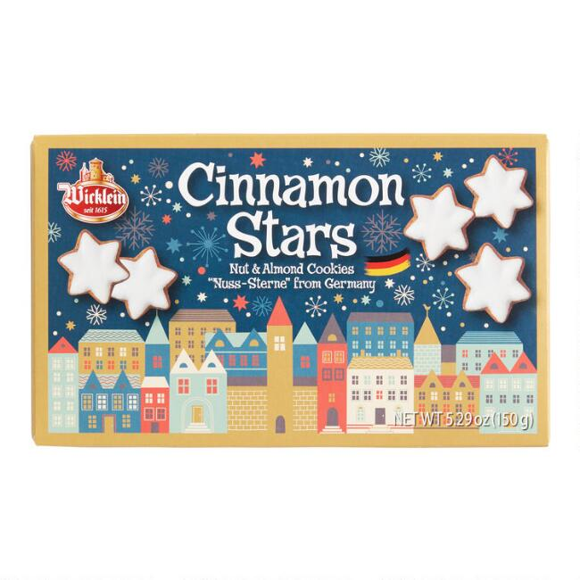 Wicklein Nut and Almond Cinnamon Star Cookies
