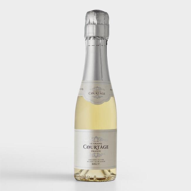 Le Grand Courtage Brut Sparkling Wine Split Bottle