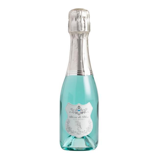 Blanc de Bleu Sparkling Wine Split Bottle