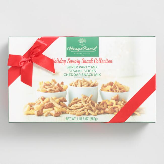Harry and David Holiday Savory Snack Mix Collection