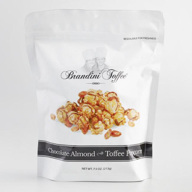 Brandini Chocolate Almond Toffee Popcorn