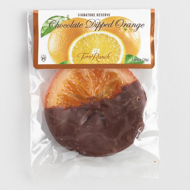 Torn Ranch Chocolate Dipped Orange