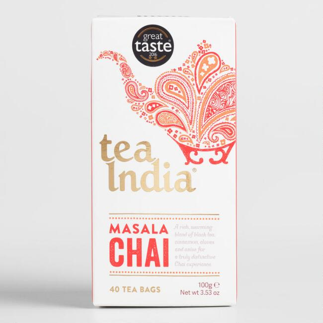 Tea India Masala Chai 40 Count