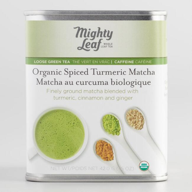 Mighty Leaf Organic Spiced Turmeric Matcha Tin