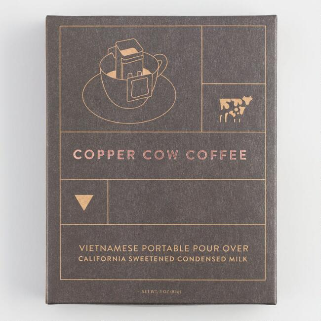 Copper Cow Coffee Pour Over Vietnamese Coffee
