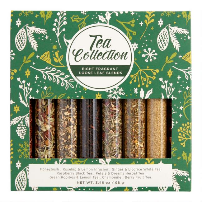 The Tea Collection Vials 8 Pack