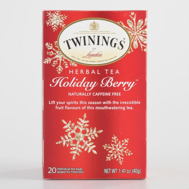Twinings Holiday Berry Tea 20 Count