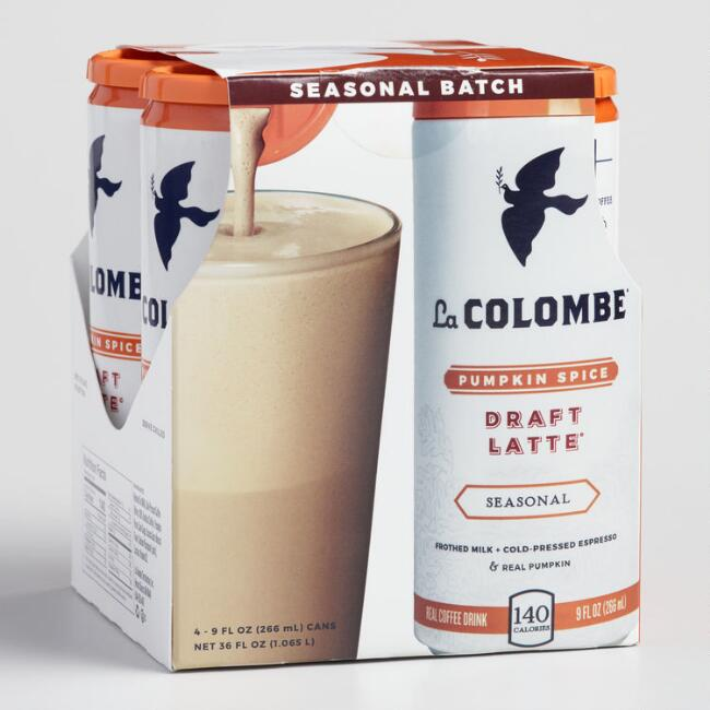 La Colombe Pumpkin Spice Draft Latte 4 Pack