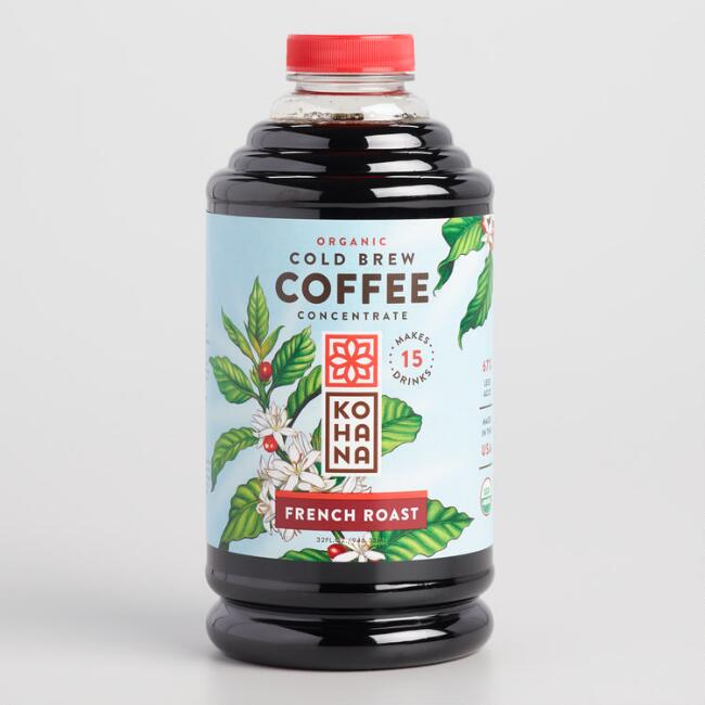 Kohana French Roast Cold Brew Coffee Concentrate