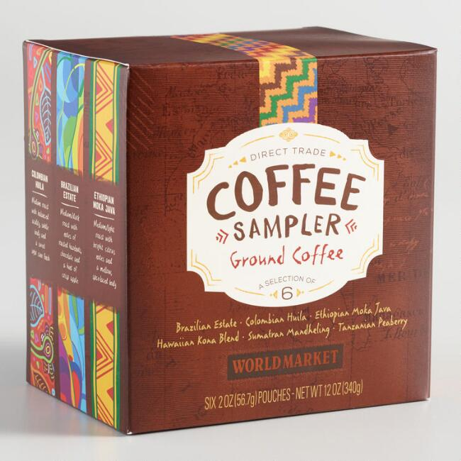 World Market® Direct Trade Coffee Sampler 6 Pack