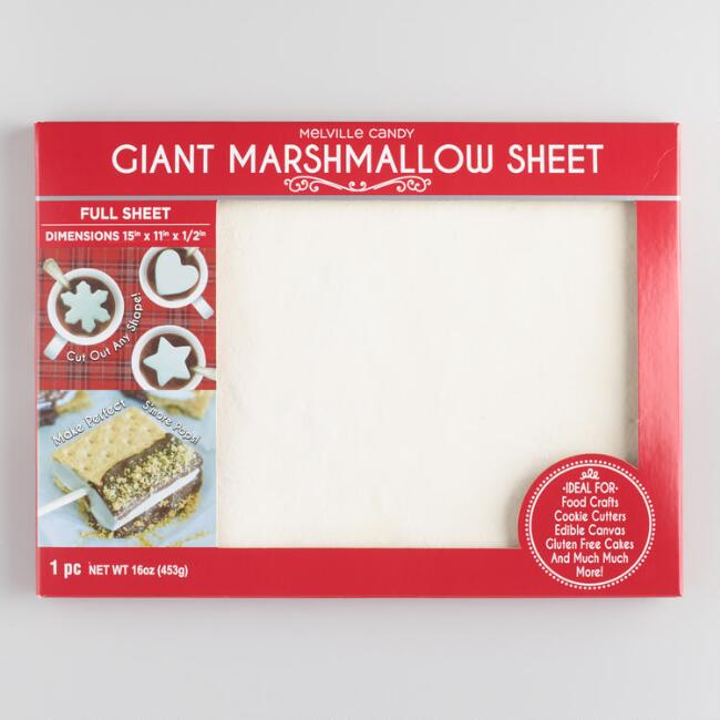 Melville Giant Marshmallow Sheet