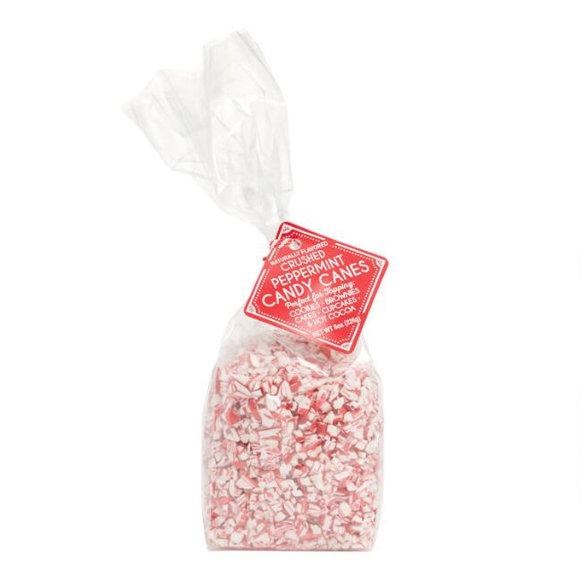 Melville Peppermint Crushed Candy Bag