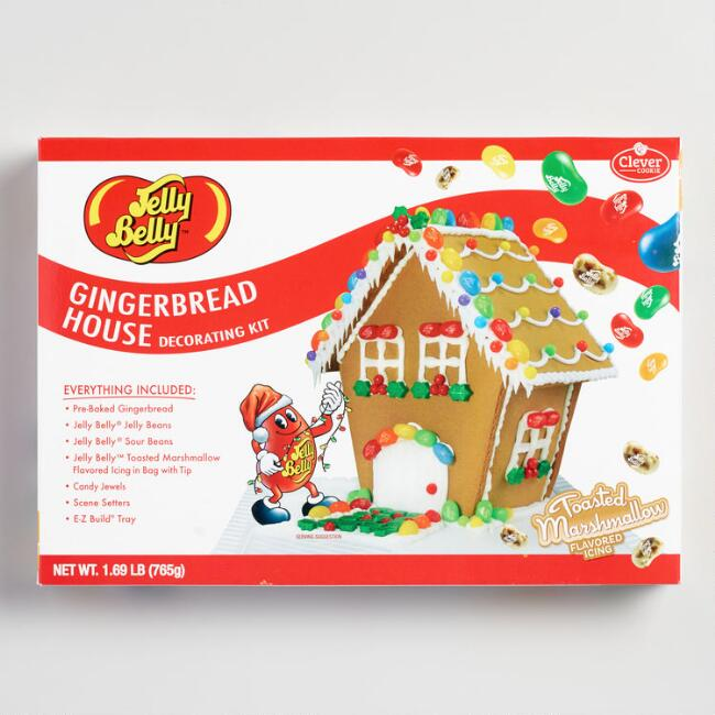 Jelly Belly Gingerbread House Kit