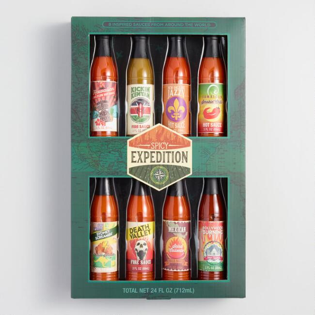 Global Expedition Hot Sauce 8 Pack