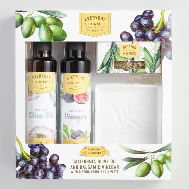 Sutter Buttes Extra Virgin Olive Oil and Balsamic Set