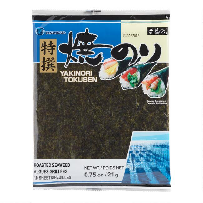 Takayokaya Roasted Seaweed Sheets Set of 2