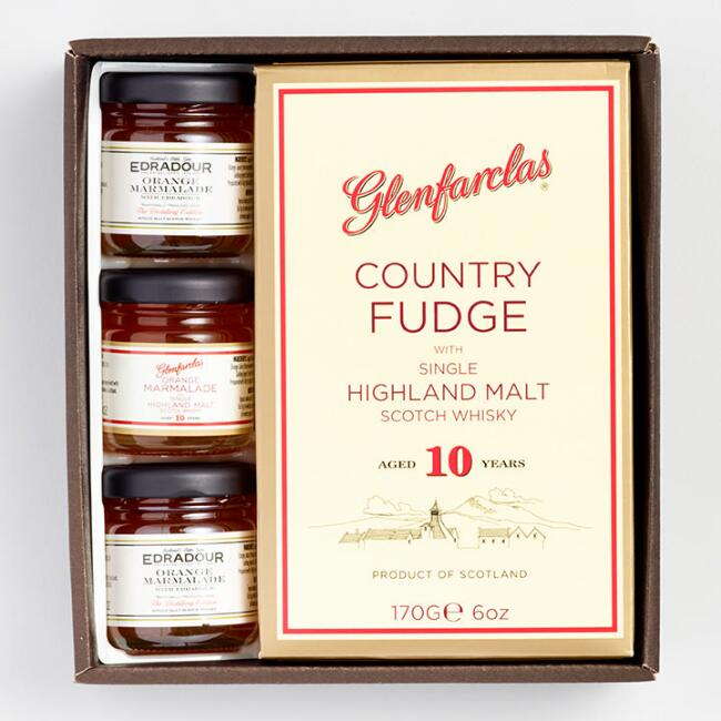 Glenfarclas Whisky Fudge and Jam Gift Box