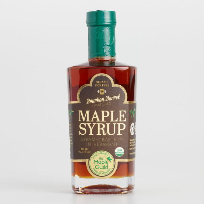 Maple Guild Bourbon Infused Maple Syrup