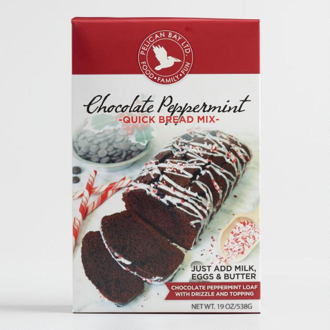 Pelican Bay Chocolate Peppermint Quick Bread