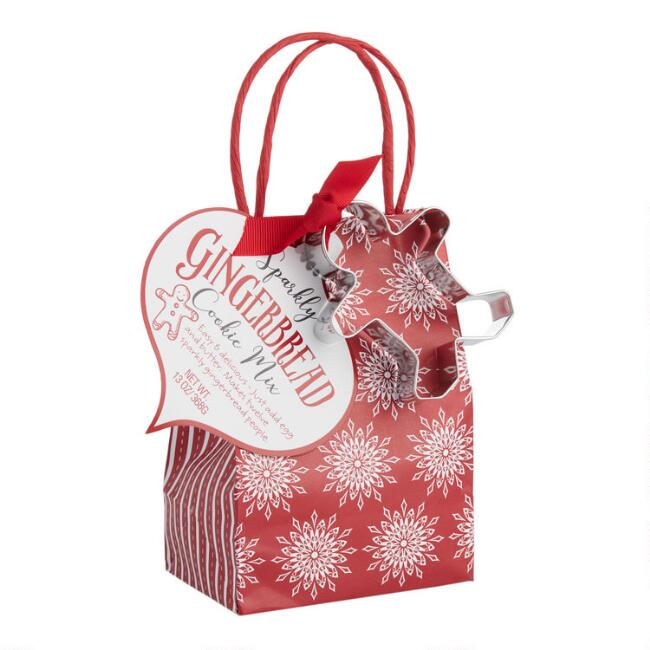 Pelican Bay Gingerbread Cookie Gift Bag