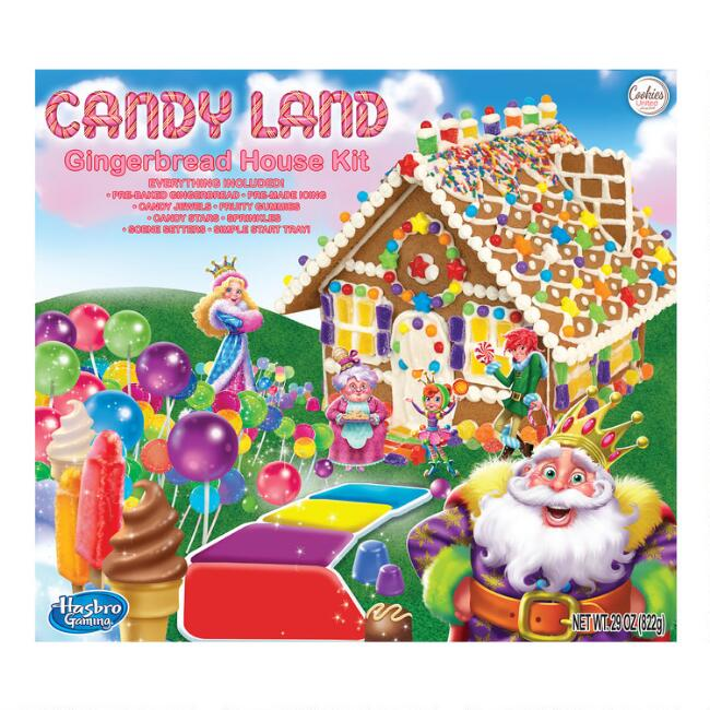 Candyland Gingerbread House Kit