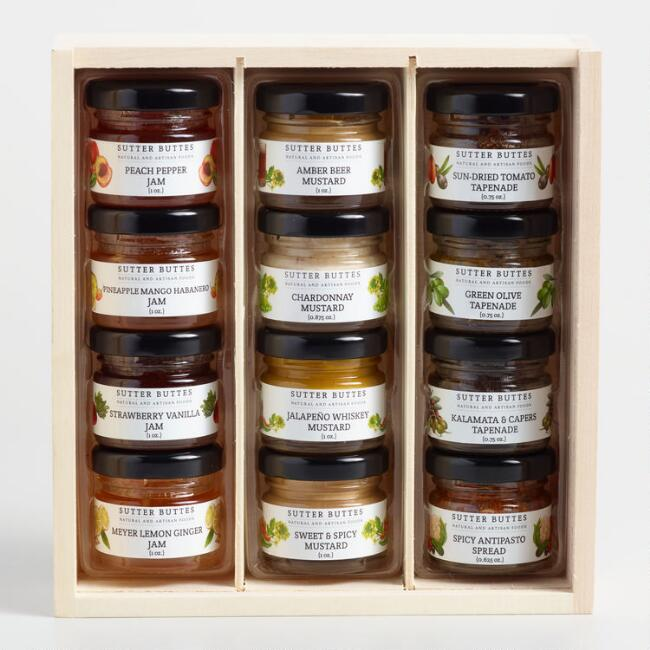 Sutter Buttes Mini Condiment Gift Crate