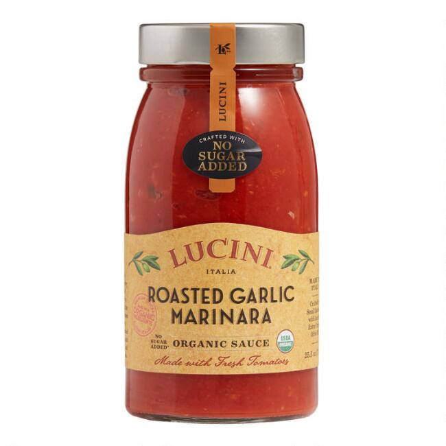 Lucini Organic Roasted Garlic Marinara Sauce