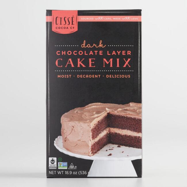 Cissé Dark Chocolate Cake Mix