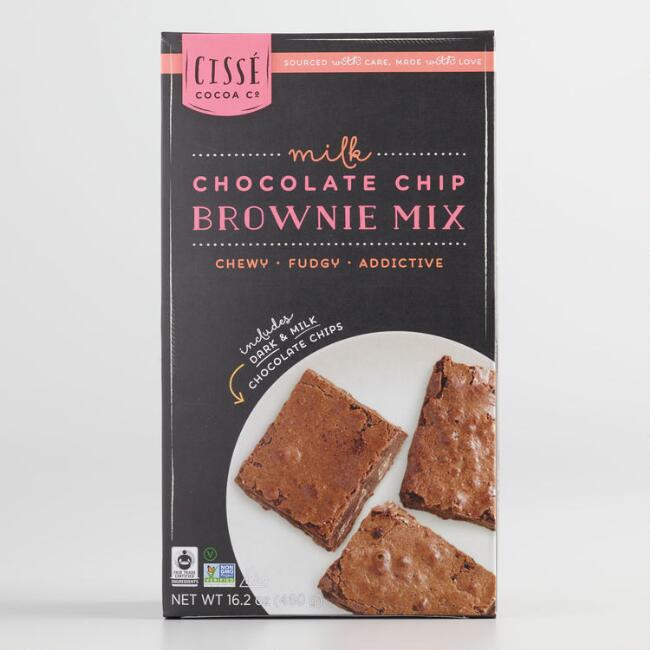 Cissé Milk Chocolate Brownie Mix