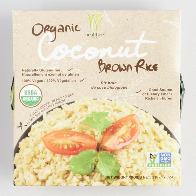 Healthee Organic Coconut Brown Rice Bowl Set of 12