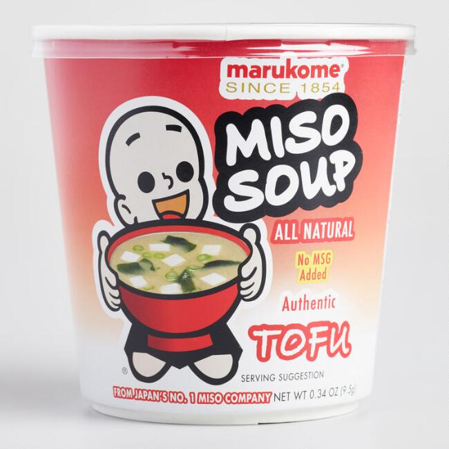 Marukome Tofu Miso Instant Soup Set of 6