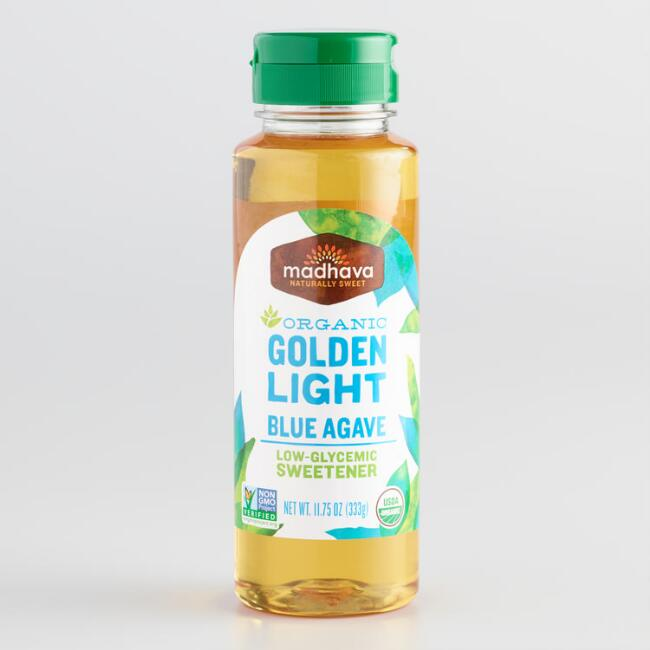 Madhava Organic Golden Agave Honey