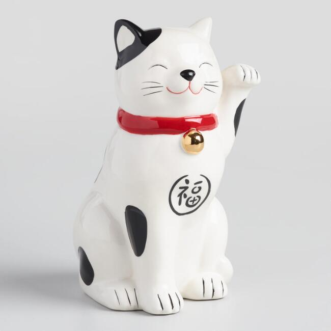 Lucky Cat Coin Bank