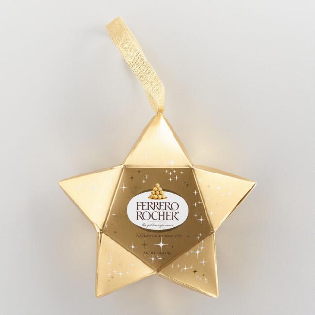Ferrero Rocher Star Ornament