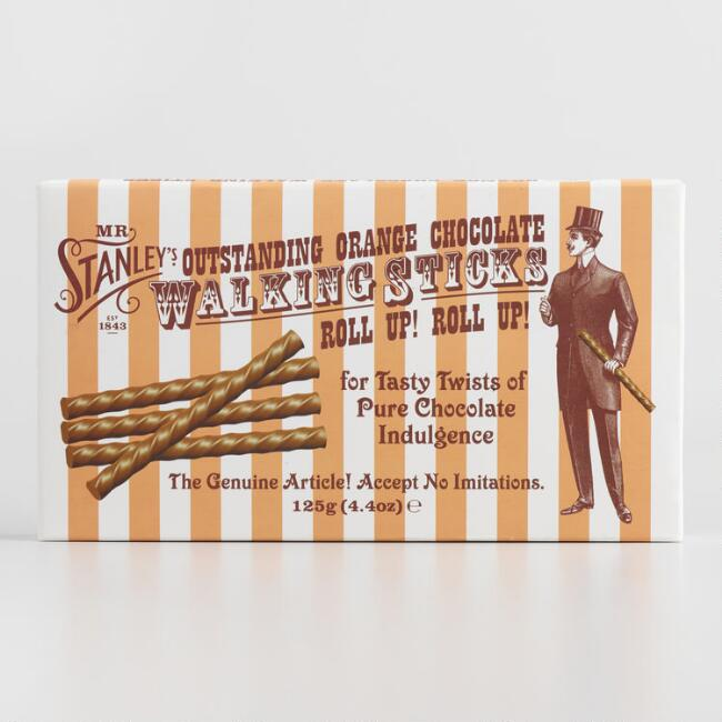 Mr. Stanley's Orange Chocolate Sticks