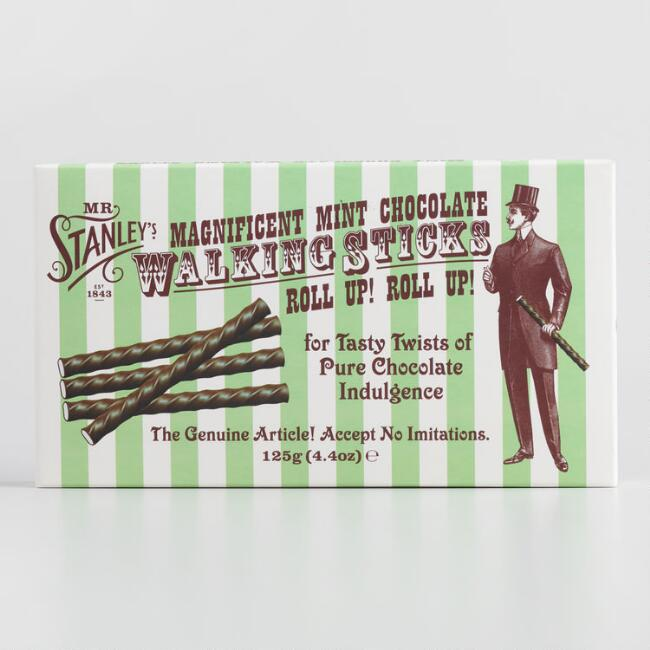 Mr. Stanley's Mint Chocolate Sticks
