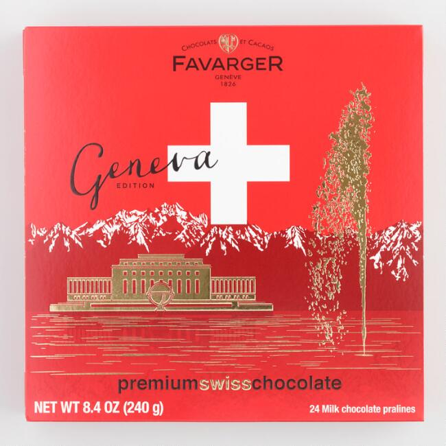Favarger Geneva Chocolate Gift Box