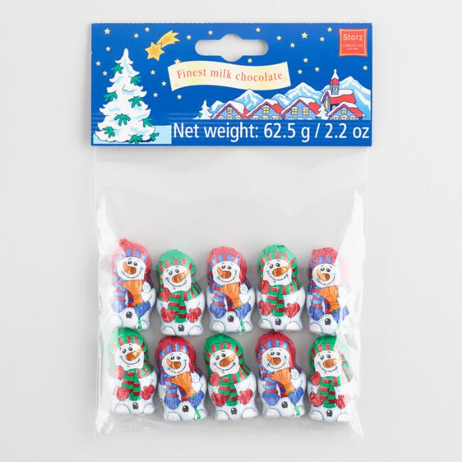 Storz Mini Snowman Chocolates 10 Piece