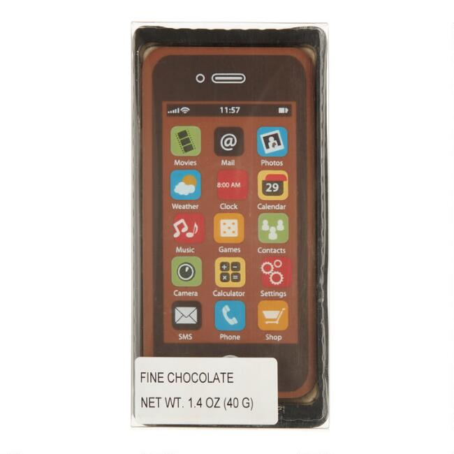 Weibler Milk Chocolate Smartphone Set of 4