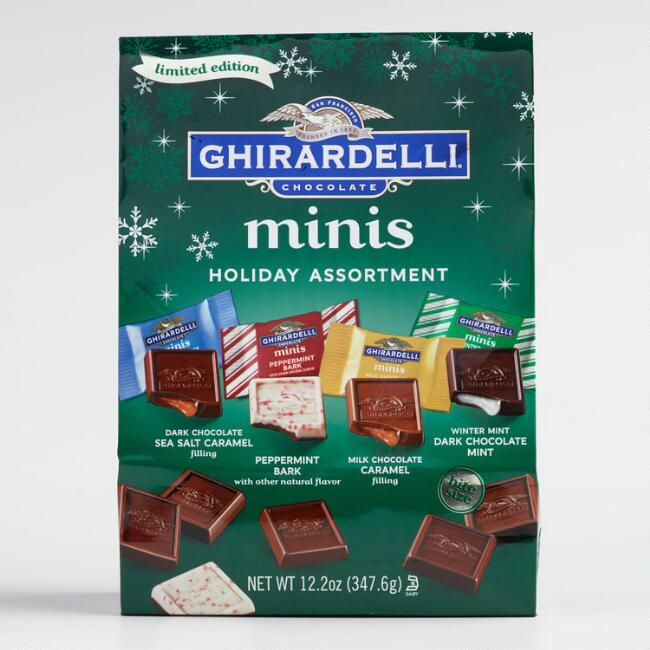 Ghirardelli Holiday Assorted Mini Chocolate Bag