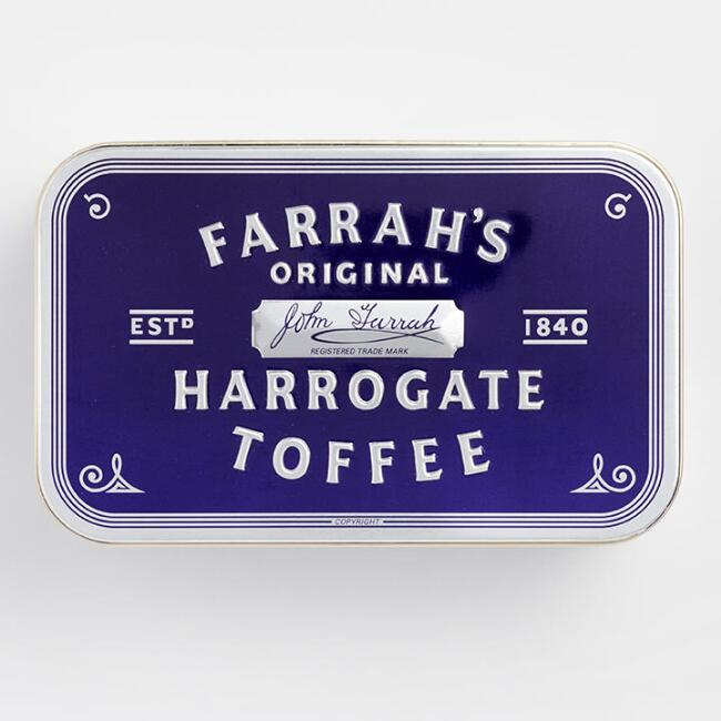 Farrah's of Harrogate Toffee Tin