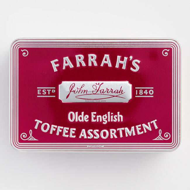 Farrah's of Harrogate Assorted Toffee Tin