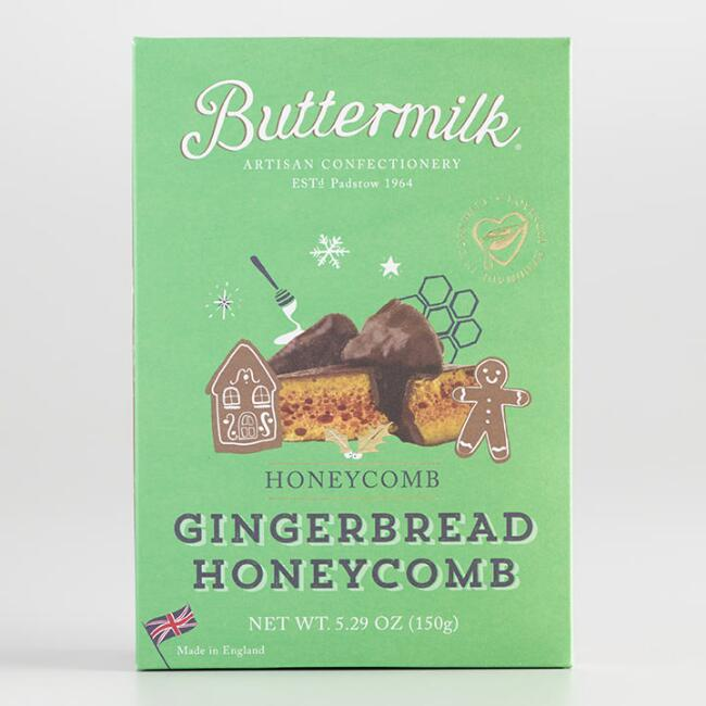 Buttermilk Gingerbread Honeycomb Candy