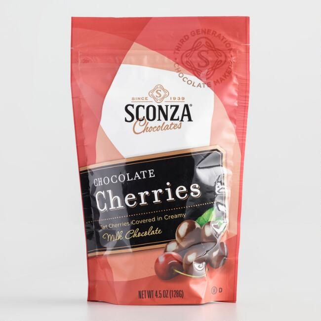 Sconza Milk Chocolate Covered Cherries